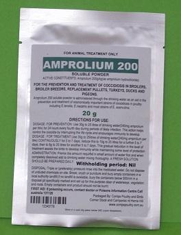 amprolium 20g