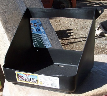 black hanging box